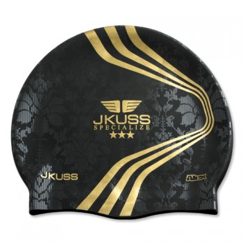 JKUSS AJ-01C Black Swim Cap