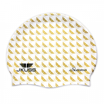 JKUSS JK-04C White Swim Cap