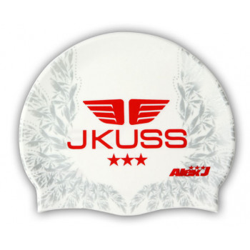JKUSS JK-11C White Swim Cap